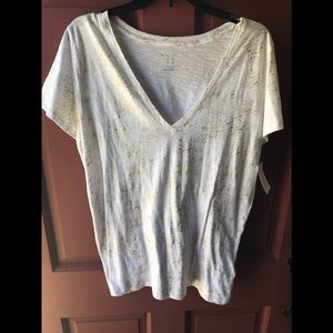 A new day xxl metallic top new with tags